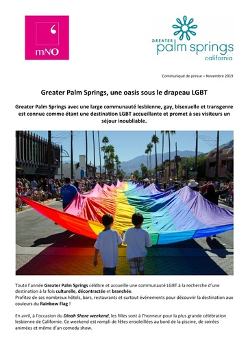 04 Greater Palm Springs Nov 19 Communauté LGBT